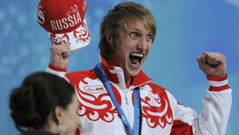 23 февраля 2010 года. Ванкувер. Иван СКОБРЕВ - серебряный призер Игр на 10 000 м. Фото Reuters