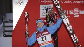 Четверг. Стокгольм. Никита КРЮКОВ - победитель спринта.