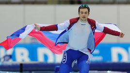 Пятница. Коломна. Россиянин Денис ЮСКОВ стал чемпионом мира на дистанции 1500 м.