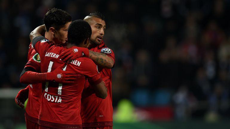 """""""Бавария"""" не знает жалости к соперникам. Фото AFP"""