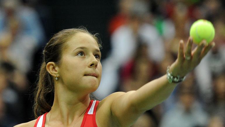 18-летняя Дарья КАСАТКИНА - главное открытие турнира в Санкт-Петербурге. Фото Никита УСПЕНСКИЙ, «СЭ»