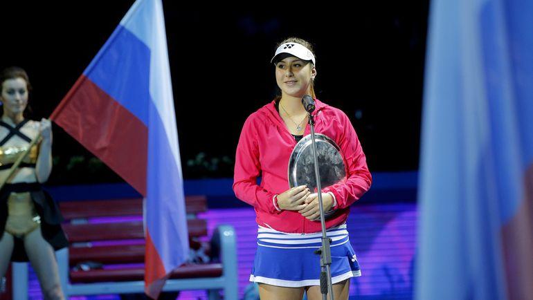Белинда БЕНЧИЧ после выход в финал St. Petersburg Ladies Trophy вошла в Top-10 рейтинга WTA. Фото wta.formulatx.com