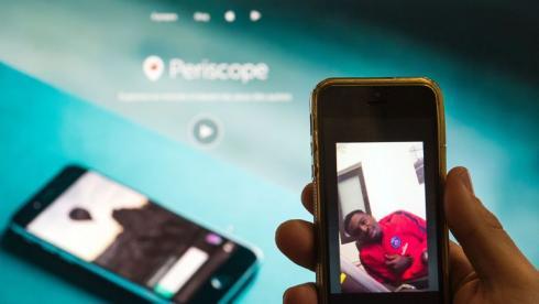 Выступление Сержа ОРЬЕ в Periscope вызвало большой резонанс во Франции. Фото AFP