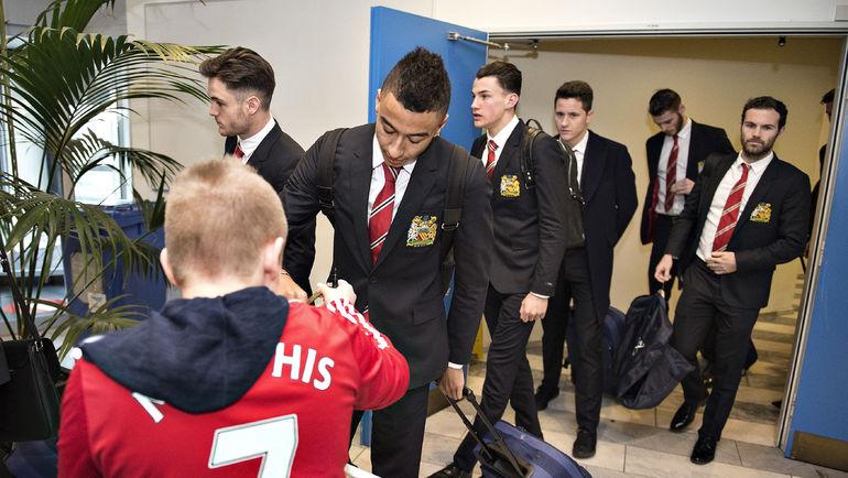 """""""МЮ"""" в Копенгагене придется обходиться без Уэйна Руни и еще 12 травмированных игроков. Фото AFP"""