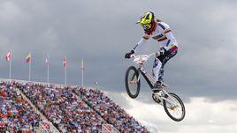Марианна Пахон выиграла золото Лондона в BMX