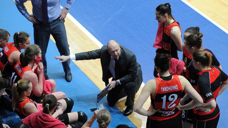 Александр ВАСИН должен решить в сборной кадровую проблему. Фото Никита УСПЕНСКИЙ, «СЭ»