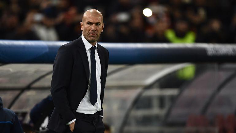 "Среда. Рим. ""Рома"" - ""Реал"" - 0:2. 57-я минута. Зинедин ЗИДАН. Фото AFP"