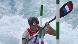 Эмилия Фер выиграла золото в гребном слаломе