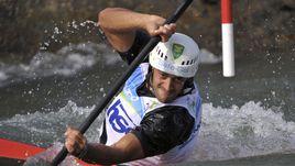 Даниэле Мольменти выиграл золото Олимпиады в соревнованиях байдарочников
