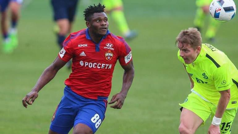 Новобранец ЦСКА Аарон ОЛАНАРЕ. Фото instagram.com/pfc_cska_official
