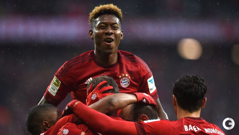 """Сегодня. Мюнхен. """"Бавария"""" – """"Дармштадт"""" – 3:1 (0:1). Игроки """"Баварии""""."""