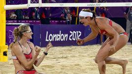Мэй-Тринор и Уолш-Дженнингс взяли золото в пляжном волейболе