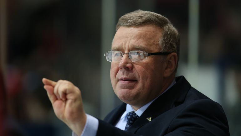 Для Игоря ЗАХАРКИНА стартует первый плей-офф, который он начнет как главный тренер. Фото photo.khl.ru