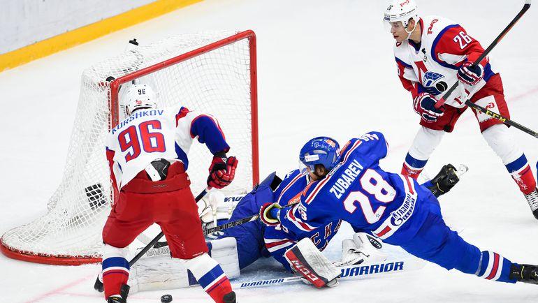 Кажется, впервые в истории КХЛ СКА начинает плей-офф не в ранге фаворита. Фото photo.khl.ru