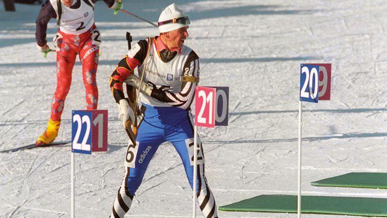 1994 год. Лиллехаммер. Сергей ТАРАСОВ. Фото Владимир БЕЗЗУБОВ, ТАСС