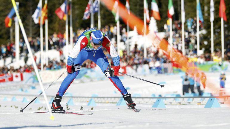 20 февраля. Уистлер. Александр ЛЕГКОВ после финиша. Фото Reuters