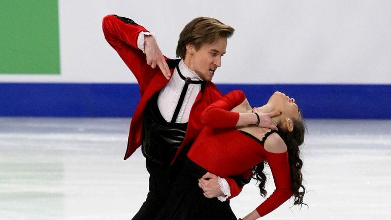 Руслан ЖИГАНШИН и Елена ИЛЬИНЫХ. Фото Ольга БЕНАР