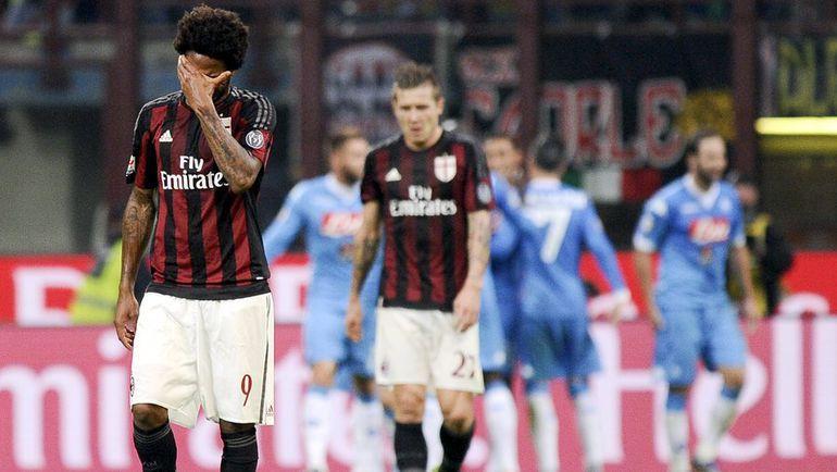 """""""Наполи"""" – """"Милан"""". Фото REUTERS"""