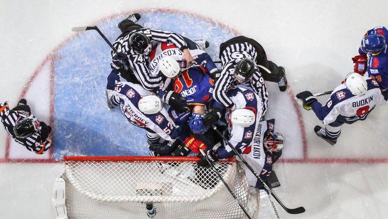 """Сегодня. Хельсинки. """"Йокерит"""" - """"Торпедо"""" - 4:3. После двух матчей в Финляндии счет в серии 1-1. Фото ХК """"Йокерит"""""""