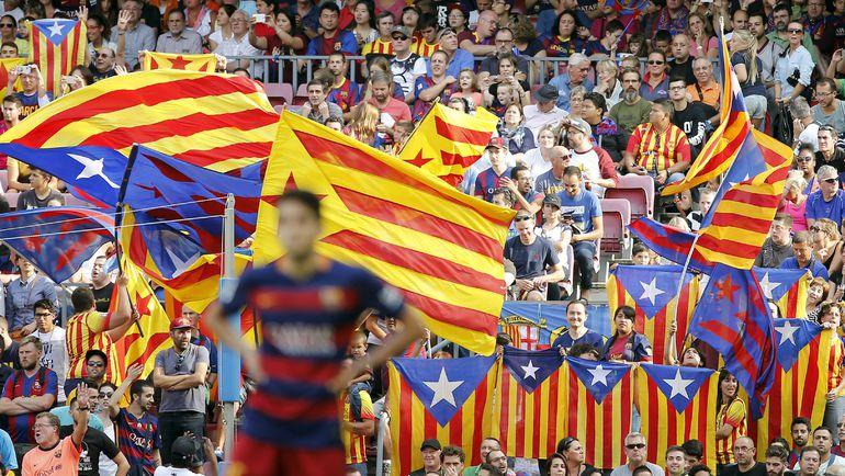 """У """"Барселоны"""" более 200 тысяч """"сосьос"""". Фото Reuters"""