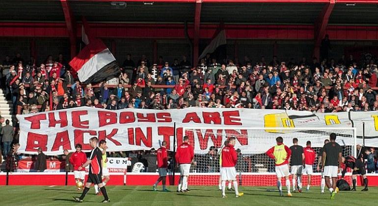 """""""Юнайтед оф Манчестер"""" родился и живет на деньги болельщиков. Фото dailymail.co.uk"""