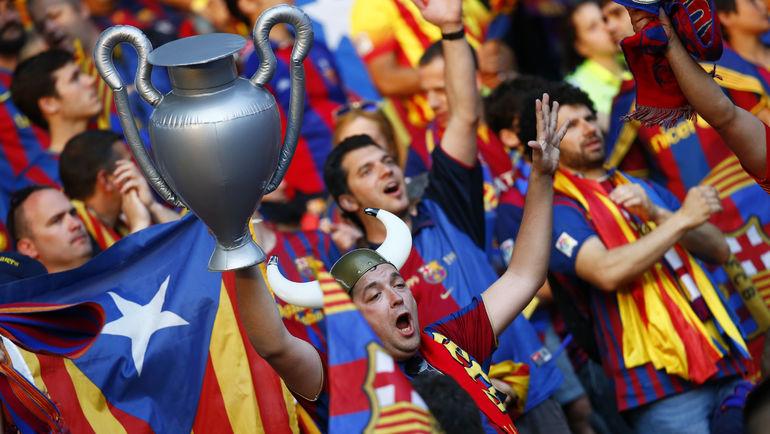 """На """"Барселону"""" невозможно выставить ценник, так как она принадлежит болельщикам. Фото Reuters"""