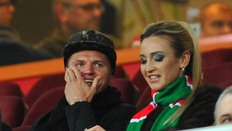 Дмитрий ТАРАСОВ с супругой Ольгой БУЗОВОЙ. Фото Александр ФЕДОРОВ, «СЭ»