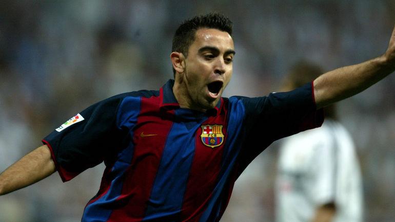 """ХАВИ дебютировал в """"Барселоне"""" именно под руководством Луи ван Гала. Фото Reuters"""