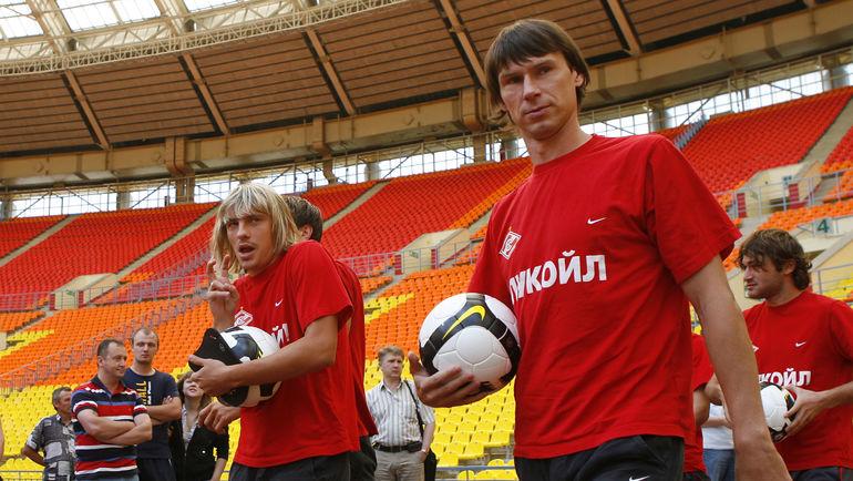 Максим КАЛИНИЧЕНКО и Егор ТИТОВ. Фото Алексей ИВАНОВ, «СЭ»