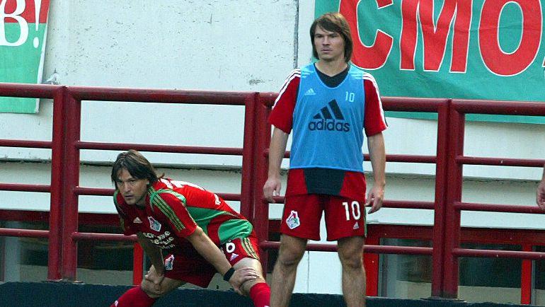 Вадим ЕВСЕЕВ и Дмитрий ЛОСЬКОВ. Фото Алексей ИВАНОВ, «СЭ»