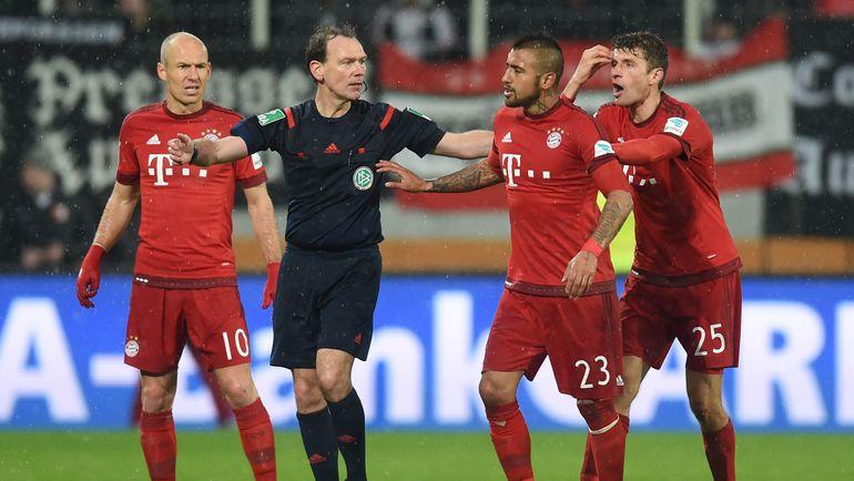 Футбол чемпионат германия. гамбург бавария, чья победа