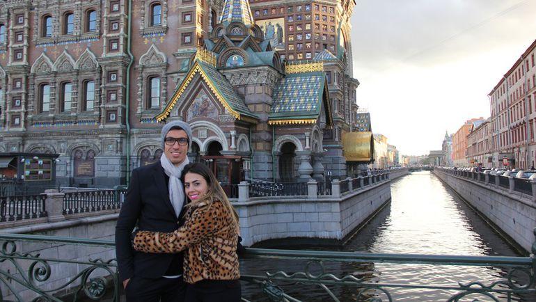 ШАНДАУ с супругой в Санкт-Петербурге. Фото из личного архива Шандау