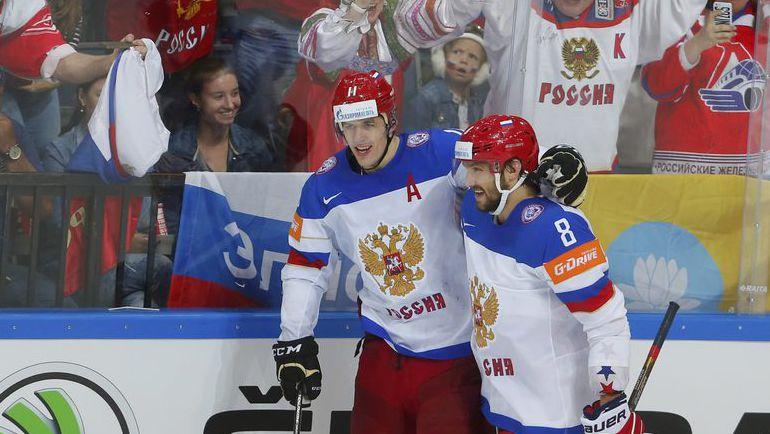 Евгений МАЛКИН и Александр ОВЕЧКИН: впереди - Кубок мира. Фото Reuters