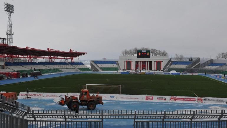 """Стадион """"Нефтяник"""" в Уфе. Фото Александр ФЕДОРОВ, «СЭ»"""