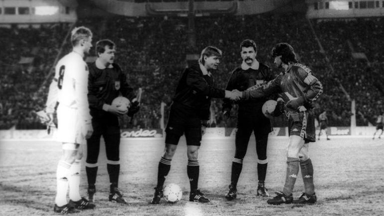 Лужники перед началом матча. Фото Дмитрий СОЛНЦЕВ