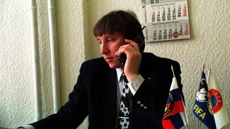 1999 год. Сергей ХУСАИНОВ -руководитель Всероссийской коллегии судей. Фото Александр ФЕДОРОВ, «СЭ»