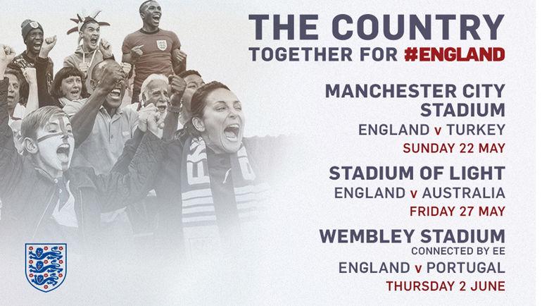 Расписание товарищеских матчей сборной Англии. Фото Сайт The FA