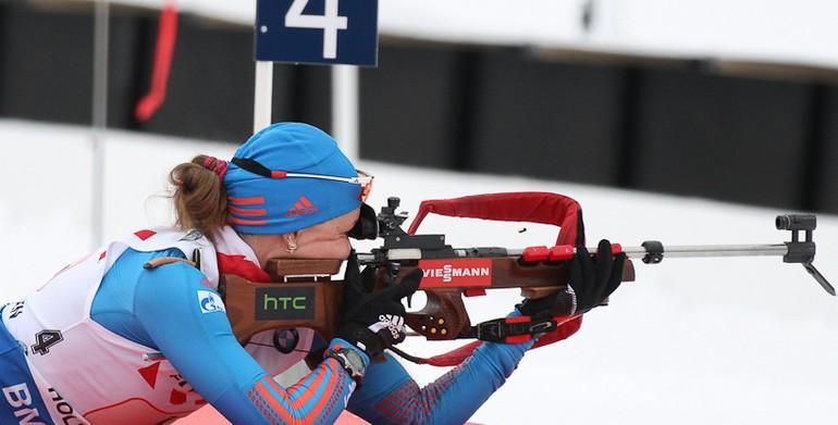 Екатерина ШУМИЛОВА не выступит в спринте на чемпионате мира в Норвегии. Фото Союз биатлонистов России