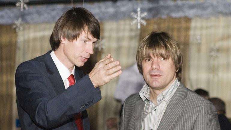 2007 год. Егор ТИТОВ и Николай ТРУБАЧ. Фото Александр ВИЛЬФ