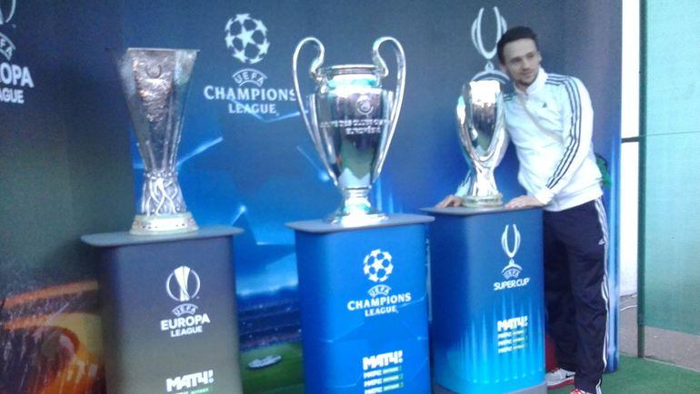 """Желающих увидеть главные европейские трофеи в Краснодаре оказалось очень много. Фото Екатерина ПОТАПОВА, """"СЭ"""""""