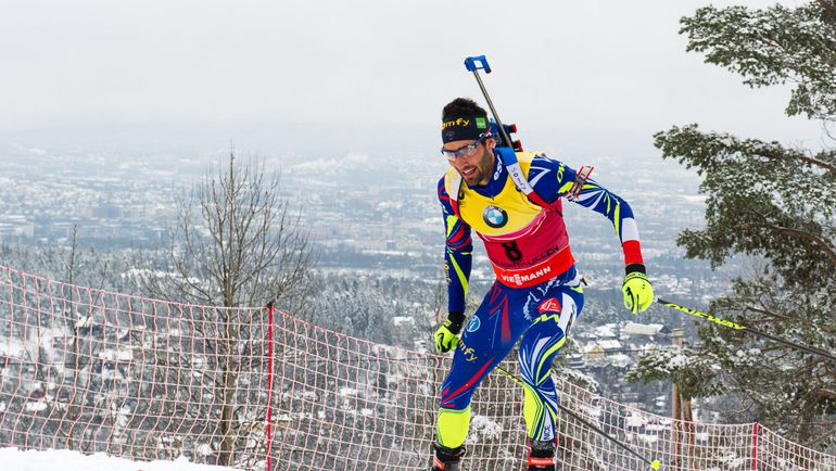 Француз Мартен ФУРКАД стал победителем гонки преследования на чемпионате мира. Фото AFP