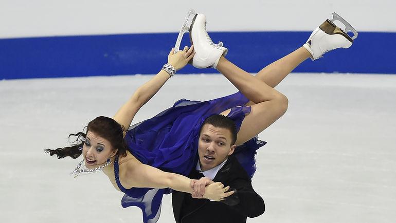 28 января. Братислава. Екатерина БОБРОВА и Дмитрий СОЛОВЬЕВ. Фото AFP