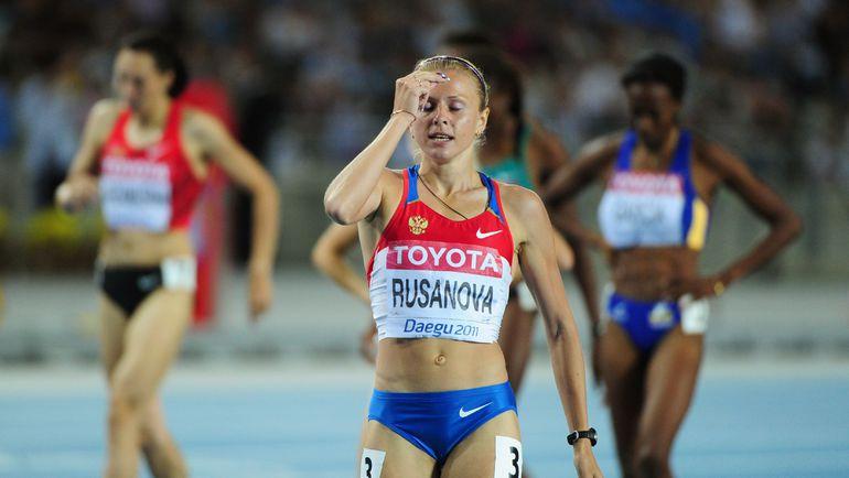 Юлия РУСАНОВА-СТЕПАНОВА: на Игры без российской легкой атлетики? Фото AFP
