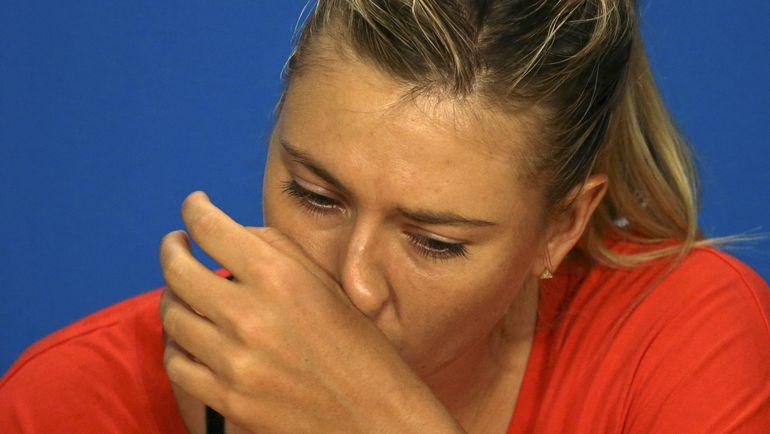 26 января. Мельбурн. Тот день, когда Мария ШАРАПОВА после четвертьфинала с Сереной Уильямс сдала допинг-тест. Фото Reuters