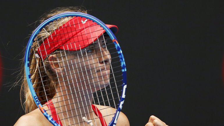Январь. Мельбурн. Мария ШАРАПОВА на Australian Open. Фото Reuters