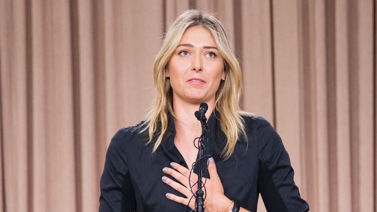 Понедельник. Лос-Анджелес. Мария ШАРАПОВА на пресс-конференции.