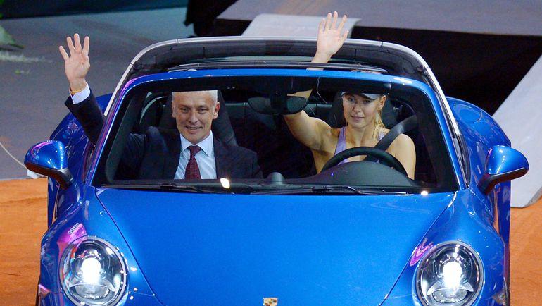...попрощалась с автоконцерном... Фото AFP