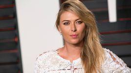 Первая ракетка России Мария ШАРАПОВА на церемонии вручения премии