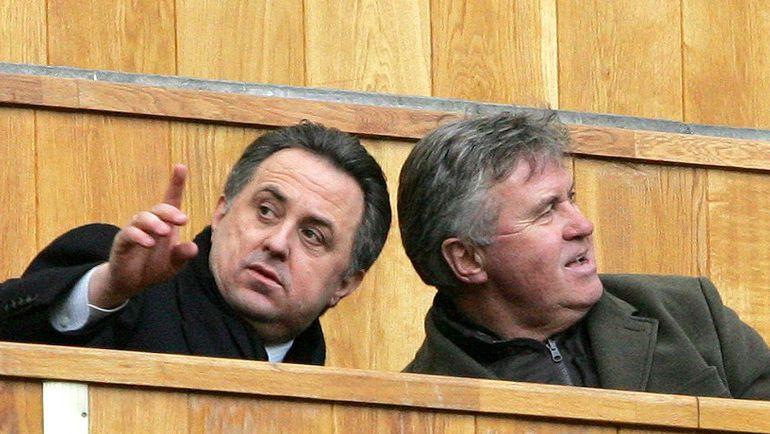 Гус ХИДДИНК (справа) и Виталий МУТКО. Фото Татьяна ДОРОГУТИНА