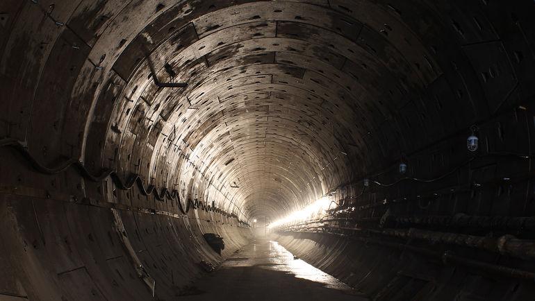 Правый перегонный тоннель. Фото А. Суриков, rosmetrostroy.ru